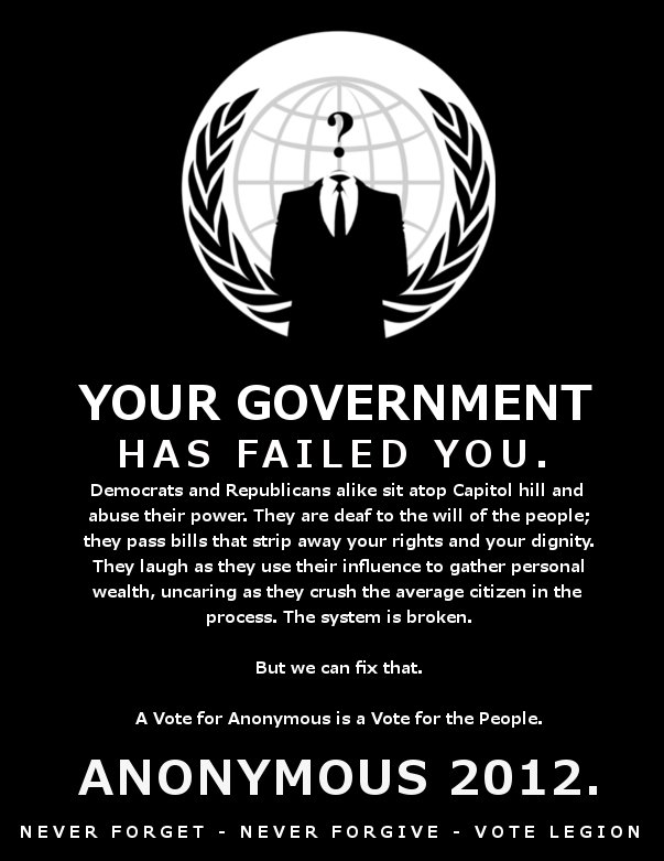 Anonymous Collective Vows To Kill Facebook November 5th 2011